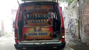 ice cool engineering stainless steel soda vending machine in vehicle model manufacturer in ahmedabad gujarat