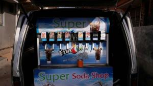 ice cool engineering stainless steel soda vending machine in vehicle model manufacturer in ahmedabad gujarat